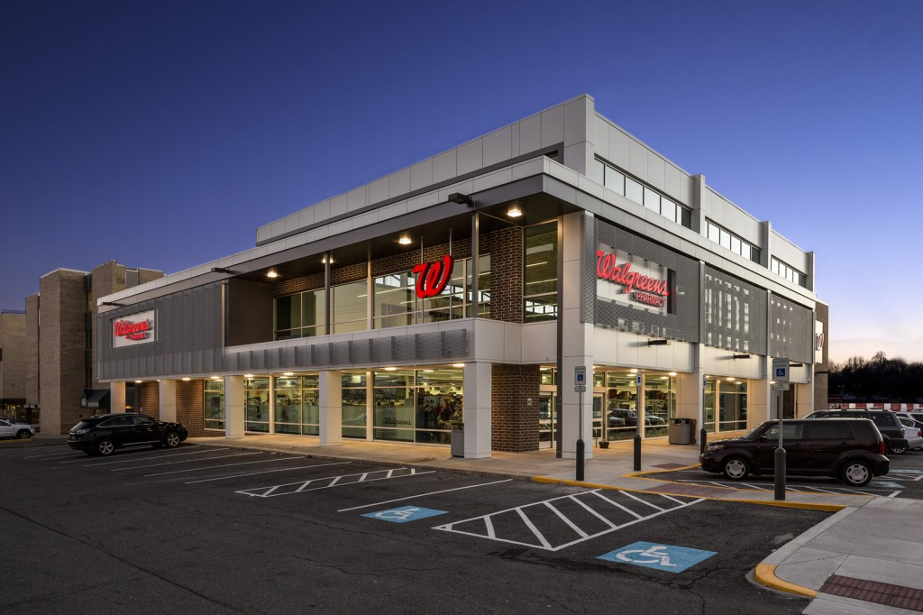 Walgreens rockville gtm architects for Convenience store exterior design