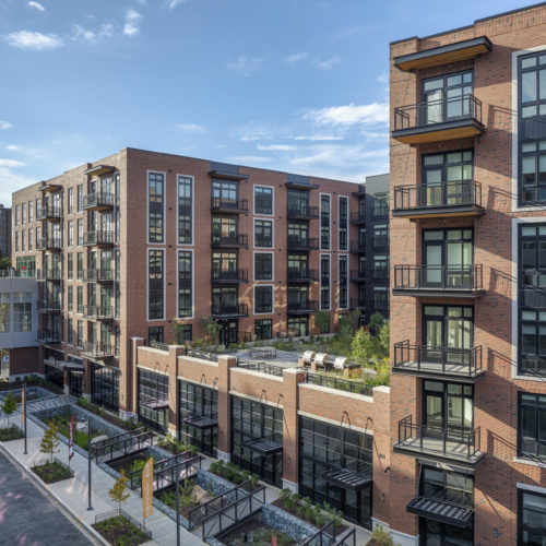 The Crossing Apartments Dc: GTM Architects